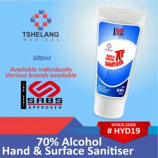70% Alcohol Hand & Surface Sanitiser 500ml