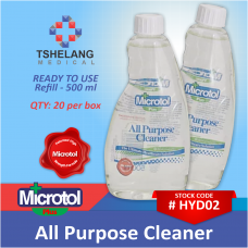Microtol+ All Purpose Cleaner Refill 500ml Box