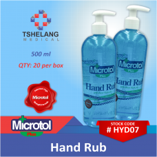 Microtol+ Hand Rub 500ml Box