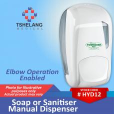 Soap or Sanitiser Manual Dispenser