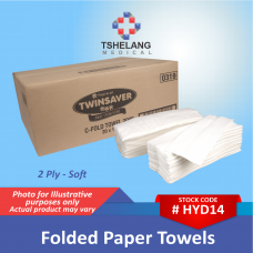 Folded Paper Towels - 2 Ply